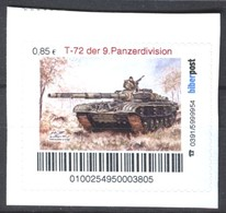 Biber Post T 72 Der 9. Panzerdivison (Kampfpanzer NVA) (85) G871 - [7] Repubblica Federale