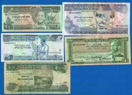 Ethiopie  5  Billets - Etiopía