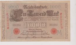 Allemagne Billet  1000  Marks  Berlin  En Date Du 21 Avril 1910 - [ 2] 1871-1918 : German Empire