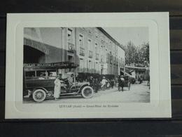 F13 - 11 - Quillan - Edition L. Escudié -  Grand Hotel Des Pyrénées - Frankreich