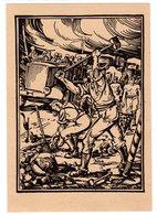 Ungelaufene Feldpostkarte Mit Heroischer Wehrmachts-Darstellung - Occupation 1938-45