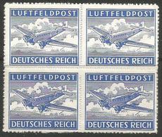 Germany - 1943 Fieldpost Block MNH ** - Germany