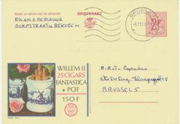 BELGIEN 1969, 2266 WILLEM II Zigarren 2 F Werbe-GA Advertising BRUGGE 1 - Interi Postali