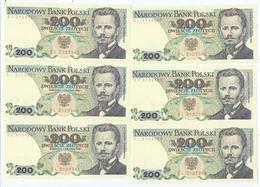 Billet Neuf De Banque De 200 Zlotych 1975-1988 - Polen