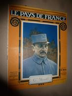 1916 LPDF:Poilu-débrouille;Tunnel Sous La Manche;Sangatte;TSF-Avion;Maquart De Terline;DEUTSCHLAND à Baltimore;Rabat;etc - Riviste & Giornali