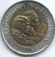 Philippines - 10 Piso - 2006 - KM278 - Philippinen