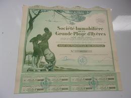 Immobilière De La GRANDE PLAGE D'HYERES - Actions & Titres