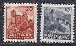 Liechtenstein 1943 Automaten-Freimarken 2v ** Mnh (43317A) - Unused Stamps