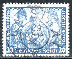 Nr. 505 B Zentrischer Vollstempel - Michel 130 € - Deutschland