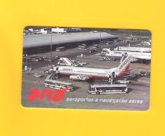 "PHONECARD - PORTUGAL PT135  ""ANA/PLACA AEROPORTO FARO"" 50U - EX:5.500 - NEW/NOT USED - Portugal"