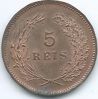 Portugal - Manuel II - 1910 - 5 Réis - KM555 - Portugal