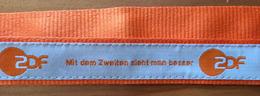 ZDF.TV.Mit Dem Zweiten Sieht Man Besser.VIP Neck Hanging Strap ID For FIFA WOMENS WORLD CUP FOOTBALL 2019 FRANCE - Merchandising