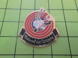 1015B Pin's Pins / Beau Et Rare / THEME : CINEMA / DESSINS ANIMES FESTIVAL DES CARTOONS BUGS BUNNY - Kino