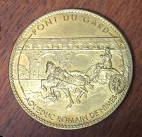 26 VERS PONT DU GARD LE CHAR MÉDAILLE SOUVENIR ARTHUS BERTRAND SANS DATE JETON TOURISTIQUE MEDALS TOKENS COINS - 2007