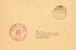 33271. Frontal MADRID 1974. Servicio Filatelico Correos - 1931-Hoy: 2ª República - ... Juan Carlos I