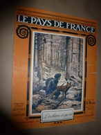 1916 LPDF:Les Chiens De Guerre;Mosquée Youssouf-Pacha;Sofia;Comédie-Française Au Front;Zeppelin-Aviatik à Salonique;etc - Revues & Journaux