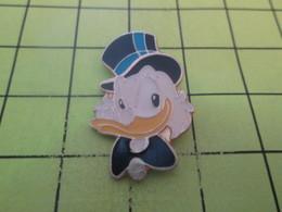 1118A Pin's Pins / Beau Et Rare / THEME : DISNEY / TETE DE PICSOU UNCLE SCROOGE - Disney
