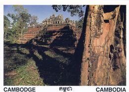 1 AK Kambodscha Cambodia * Tempel Phimeanakas Im Königspalast Von Angkor Thom - Erbaut Im 11. Jh. UNESCO Weltkulturerbe - Kambodscha