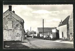 CPA La Brosse, L`entree Du Bourg - Unclassified