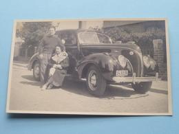 Oude / Old / Vieux AUTOMOBILE ( Formaat PK / CP) Anno 19?? > Gekleefd Geweest ( Zie Foto Voor Details ) ! - Automobiles