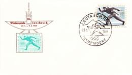 1964 Olympische Winterspiele, Innsbruck -  Nicht Katalogisierter SST  Olympisches Dorf,  LeutschachTirol - Poststempel - Freistempel