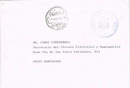 33272. Carta MADRID 1992. Fechador JEFATURA Del ESTADO, Casa De S.M. El REY Franquicia - 1981-90 Storia Postale