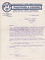 38-H.Vibert-Truchon...Machines à Coudre...Vienne..(Isère)..1920 - France