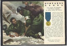 CPSM Italie Italia Fascisme Fascism War WWII Voir Scan Du Dos Médaille - War 1939-45