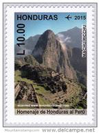 Honduras 2015 Mountain Mountains Berge Machu Picchu MNH ** - Honduras