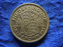 GREAT BRITAIN 1/2 CROWN 1937, KM856 - 1902-1971: Postviktorianische Münzen