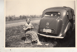 Old Timer - Adinkerke - 1952 - Foto 6 X 8.5 Cm - Automobiles