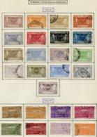13530 PORTUGAL Collection Vendue Par Page  Colis-postaux 1/17, 18/25  °/ *   1922-32   B/TB - Oblitérés