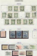 13528 PORTUGAL Collection Vendue Par Page  Taxe 28A/30, 32/5, 37/43, 44, 45/7, 49/57  */(*)/ °   1922-32   B/TB - Port Dû (Taxe)
