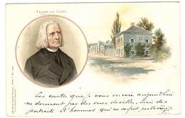 FRANZ VON LISZT - Ed. Lith-Artist. Anstalt München, Serie I N° 15919 - Oblit. 1901 - Filosofia & Pensatori
