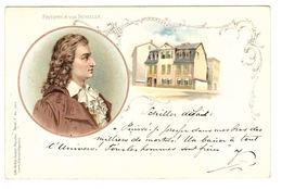 FRIEDRICH VON SCHILLER - Ed. Lith-Artist. Anstalt München, Serie I N° 15914 - Oblit. 1901 - Filosofia & Pensatori