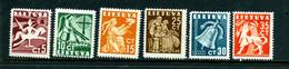 Lituanie 1940 Y&T 376/81 * - Lituanie