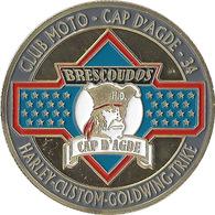 CAP-D'AGDE - Club De Moto Des Brescoudos / Souvenirs Et Patrimoine 2013 - Touristiques