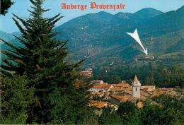 HOTEL  AUBERGE PROVENCALE MENTON SOSPEL (scan Recto-verso) KEVREN0377 - Menton