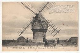 44 - Guérande - Le Moulin De Crémeur, Dit Moulin Du Diable - LL 25 - Guérande