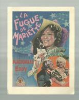 -**LA  FUGUE  DE  MARIETTE   **- Maison  Du  Peuple - HERSTAL - Cinema Advertisement