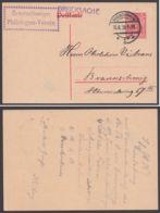 """P 107, Orts-Drucksache, 15.6.20, """"Braunschweiger Philologen-Verein"""" - Alemania"""