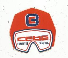 AUTOCOLLANT,  CEBE ,  Lunettes ,  Casques - Autocollants