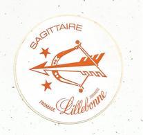AUTOCOLLANT,  Fromage LILLEBONNE ,  Sagittaire - Autocollants