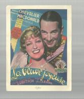 "-**LA  VEUVE  JOYEUSE    **- """"Maurice  CHEVALIER  &  Jeanette MACDONALD"""" - Cinema Advertisement"
