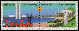 Brazil 1993 Portuguese Capital Cities Unmounted Mint. - Brazil