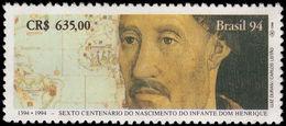 Brazil 1994 Prince Henry The Navigator Unmounted Mint. - Brazil