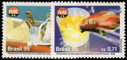 Brazil 1995 Road Safety Campaign Unmounted Mint. - Unused Stamps