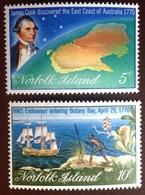 Norfolk Island 1970 Cook Bicentennial MNH - Norfolk Island