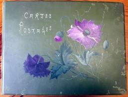 Album Géant 250 Pages /1000 Cartes- Contenant 750 CPA Collection De La Même Personne De MORTEAU (Doubs)  Décor PAVOTS - Matériel