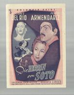 """-**Columbia  Zeigt ++ DIE  HERRIN  Von  SOTO  ++   **- """"""""1951- - Cinema Advertisement"""